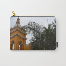 Yellow Villa Carry-All Pouch