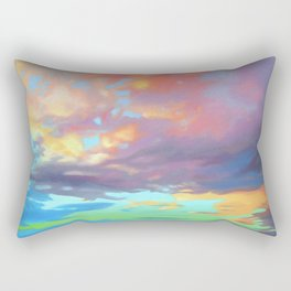 Sky Opus by Amanda Martinson Rectangular Pillow