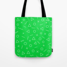 MEMPHIS ((true green)) Tote Bag
