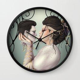 Bride of Death Wall Clock