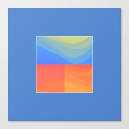 Torrent Canvas Print