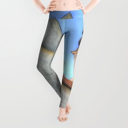 Tihany Benedictine Abbey Leggings