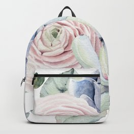 Succulent Blooms Backpack