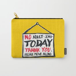 No Thank You Carry-All Pouch