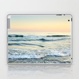 Serenity sea. Vintage. Square format Laptop & iPad Skin