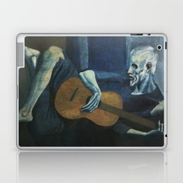 Pablo Picasso - The Old Guitarist Laptop & iPad Skin
