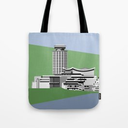 Soviet Modernism: Youth Palace in Yerevan, Armenia Tote Bag