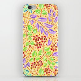 Sunshine Filigree Floral iPhone Skin
