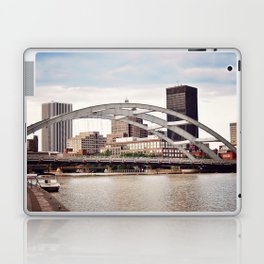 Frederick Douglass–Susan B. Anthony Memorial Bridge   Rochester NY Laptop & iPad Skin