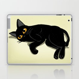 Lying down Laptop & iPad Skin