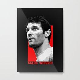 Formula One - Mark Webber Metal Print