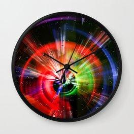 Digital world Wall Clock