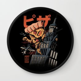 Pizza kong Wall Clock