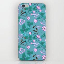 Chipmunks in the Strawberries iPhone Skin