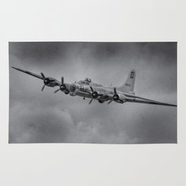 Boeing B-17 Flying Fortress Rug