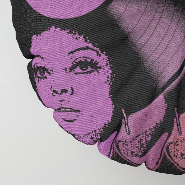 Afrovinyl Continuum Floor Pillow