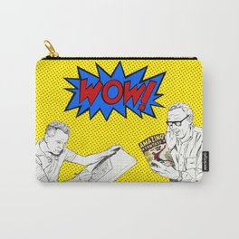 """Stan """"the Man"""" Lee and Jack """"the King"""" Kirby Carry-All Pouch"""