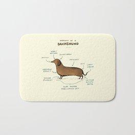 Anatomy of a Dachshund Bath Mat