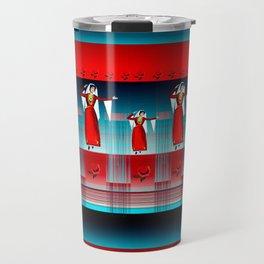 Armenian Dancers Travel Mug