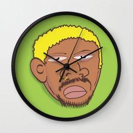 Dennis Rodman Wall Clock