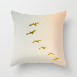 Updraft #2 Throw Pillow