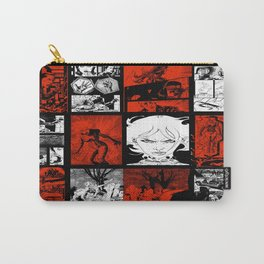 RED & WHITE - A nne Frankenstein Book I - Resurrection Carry-All Pouch