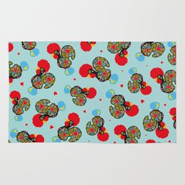 Rooster of Barcelos | Portuguese Lucky Charm Rug