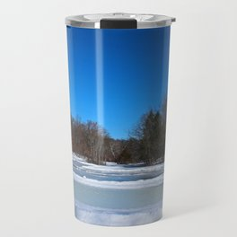 Oak Openings in Winter Travel Mug