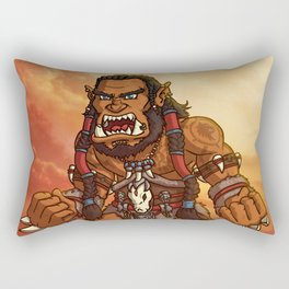 Durotan Cartoon Rectangular Pillow