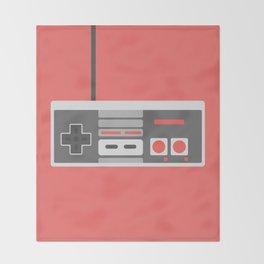#48 NES Controller Throw Blanket