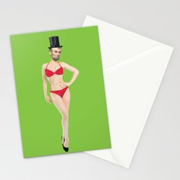 Baberaham Lincoln  Stationery Cards