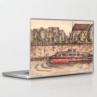 budapest Laptop & iPad Skins featuring Budapest Art by Daria Kotyk