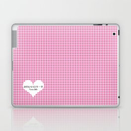Japanese Kawaii Lolita - Tiny Heart Laptop & iPad Skin