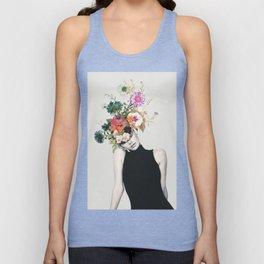 Floral beauty Unisex Tank Top