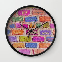 Fruits Of The Spirit Wall Clock