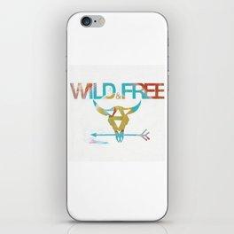 WILD & FREE iPhone Skin