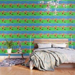 Peace in the garden Wallpaper