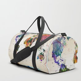 map Duffle Bag