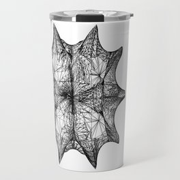 The Calabi-Yau Manifold - White Travel Mug