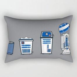 R U Going 2 Throw That Away? Rectangular Pillow