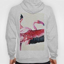 Watercolor Flamingo (Color) Hoody
