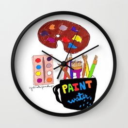 Artist Tools Wall Clock