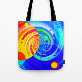 Re-Created Twisters No. 11 by Robert S. Lee Tote Bag