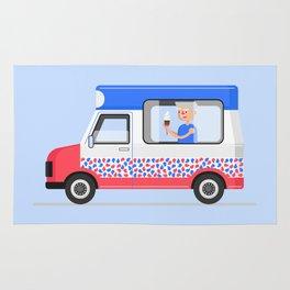 Ice-cream Truck Rug