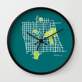 Manito Park, Spokane Wall Clock