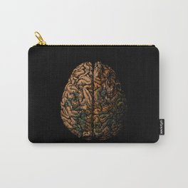 Always On My Mind - Brain Traveling Wanderlust Love Travel Carry-All Pouch