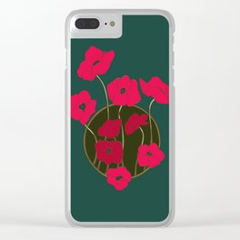 Flowers for Mom Clear iPhone Case