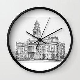 Wayne County Court House | Detroit Michigan Wall Clock