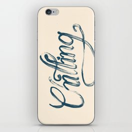 Just Chilling iPhone Skin