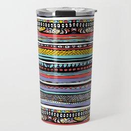 patterns of color Travel Mug